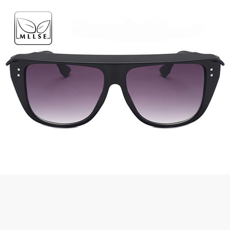 8f73c1469f7b MLLSE Brand Neutral Sunglasses for Women And Men Rice Box Frame ...