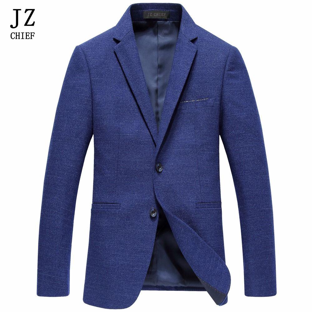 Blauer mantel herren