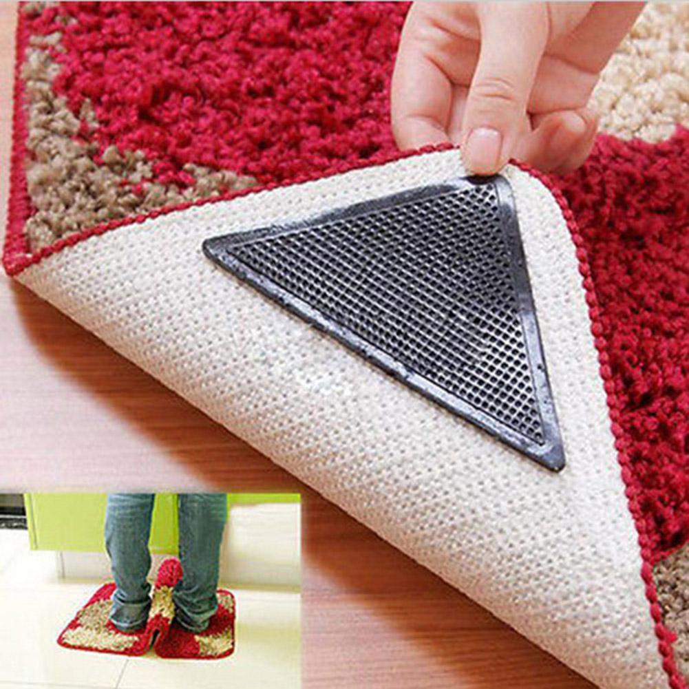 4pcs/lot Carpet Non Slip Bath Mat Tri Sticker Hot Sale Anti Slip Shower Strips Flooring Safety Sticker Mat Pad 10cmX10cm