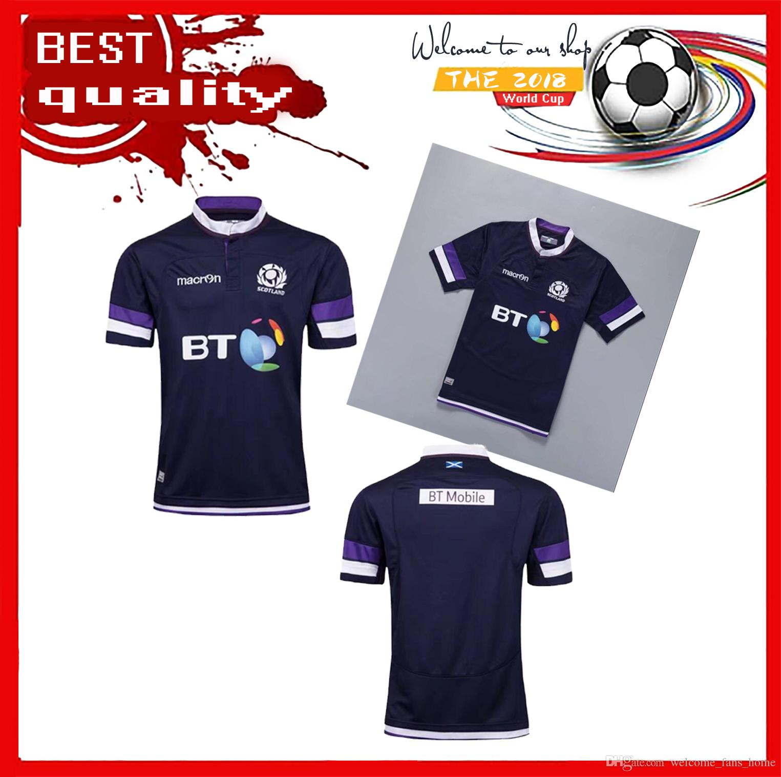 2b2345a426c New Scotland RWC Strip 201-2018 Scottish Home Away Kits Rugby World Cup 2018  Scotland Rugby Shirt Thailand Quality Rugby Jerseys Scottish Scotland  Scotland ...