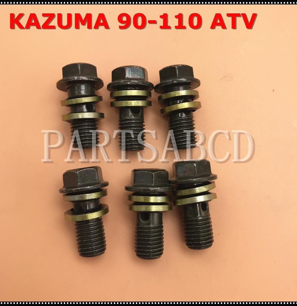 Kazuma 50cc 90cc 110cc 250cc Atv Quad Banjo Screw With Washers For Harley Motorcycle Engine Drawing Vquad And Method All Fluid Hoses M10 Parts Accessories Cheap