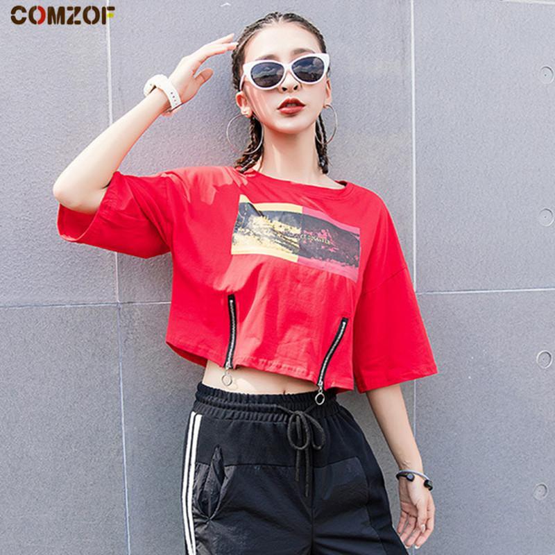 55d4b8e6e87 Newest Women Harajuku T Shirt Ulzzang Short Sleeve Crop Top Summer Korean  Loose Tops Womens Punk Fashion Tshirt Feminina Movie T Shirts Shirt  Designer From ...