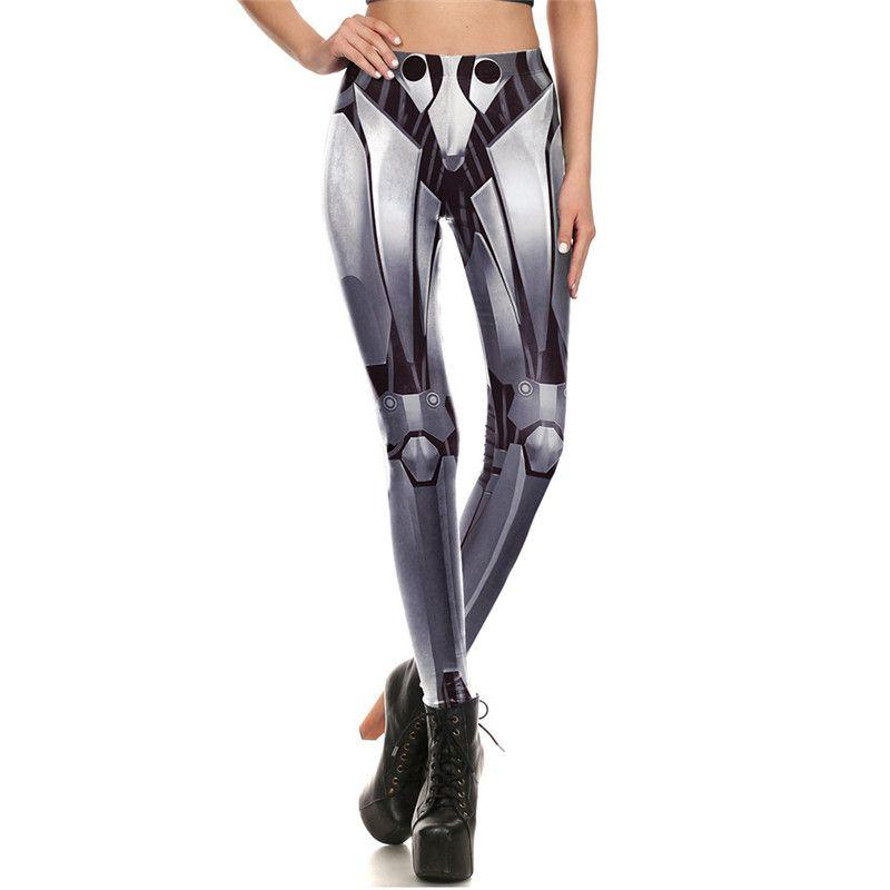 Wholesale Hot Style Sexy Legging Bone Skeleton Skull 3d Digital Printed Legins Women Slim Fit Leggings Pant