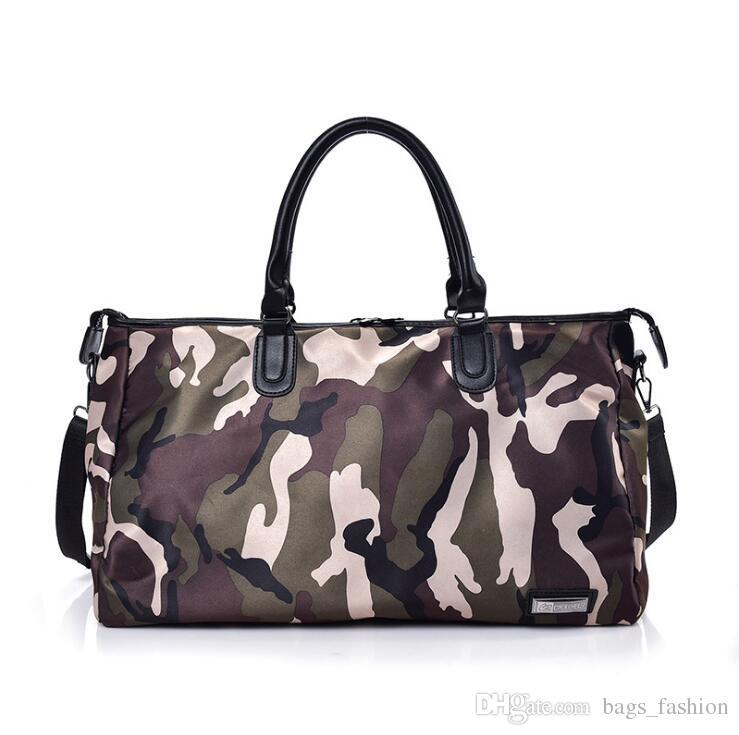 c3d0a84119 New Camouflage Travel Bag 2018 Fashion Classic Nylon Luggage Duffle Bag  Portable Shoulder CrossBody Bags Men Women Travel Bags Cheap Duffle Bags  Backpacks ...