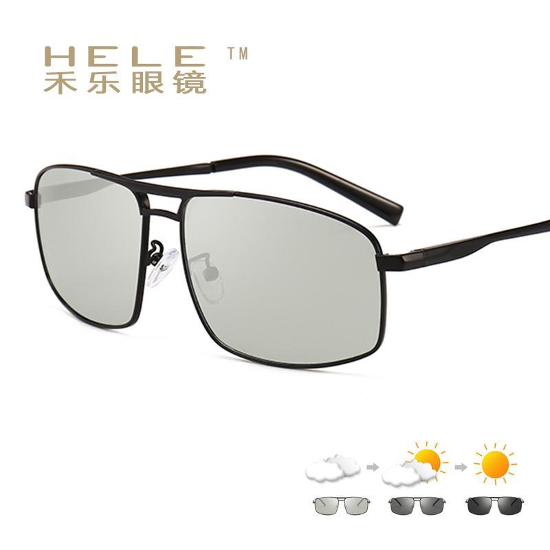 7ce0d2a1271d 2018 Polarized Sunglasses Men Uv400 Photochromic Night Driving Glasses Pilot  Designer Sunglases Sports Fishing Designer Cheap Sunglasses Mens Sunglasses  ...