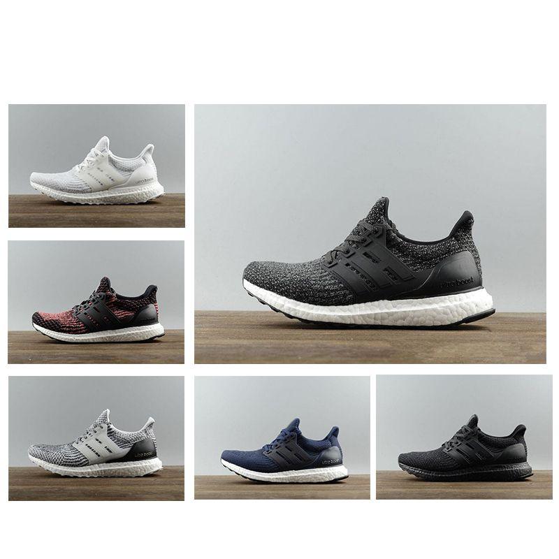 2946fddfabbb5 Acquista Adidas Ultra Boost 3.0 4.0 Esegui 3.0 4.0 Uomo Donna Scarpe Da  Corsa Triple Nero Bianco CNY Oreo Primeknit Scarpe Sportive Sneaker  Spedizione ...
