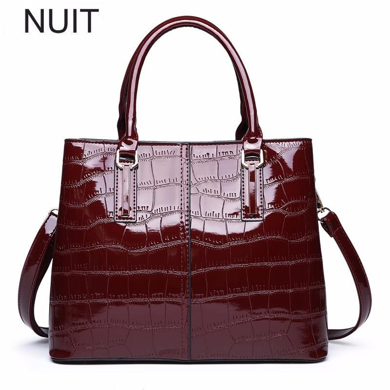 Top-handle Bags Large Capacity Women Tote Bag High Quality Pu Leather Female Handbags Top-handle Bags Women Shoulder Bag Bolsa Shopping Bag Fashionable And Attractive Packages