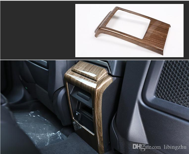 Walnut Wood For Land Rover Discovery Sport 2015 2018 Car Accessories