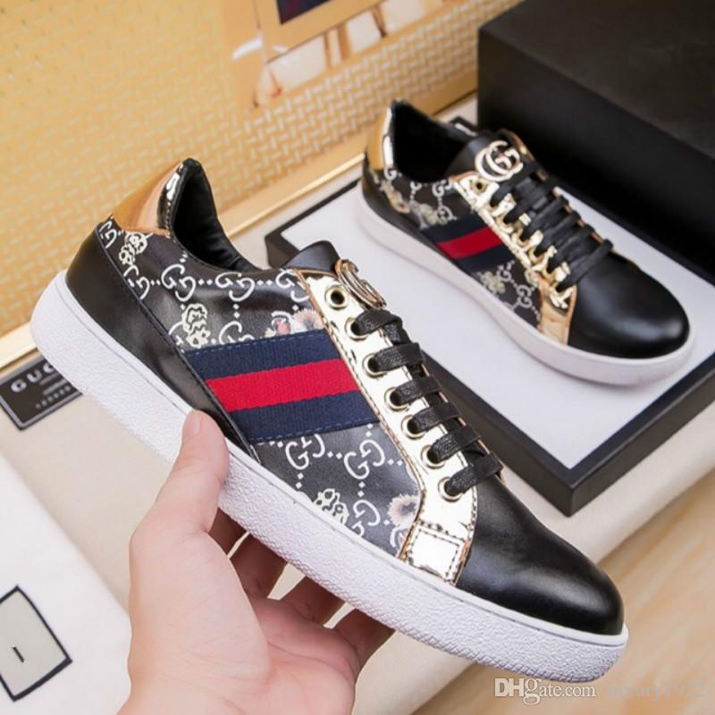 ae7927f7e9 2019 Men S Shoes New Designer Fashion Trend Black Wild Men S Sports Shoes  High End Quality Factory Direct Sales With Box From Luxury1922