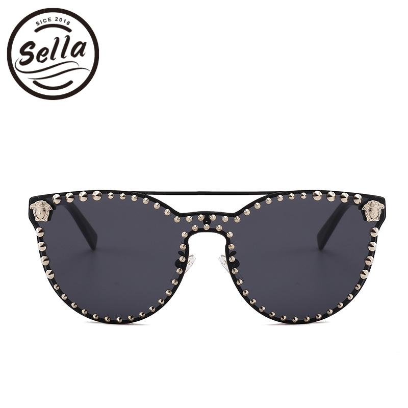 8f1a970c3f Sella High Quality Super Fashion Women Men Retro Cateye Nail ...