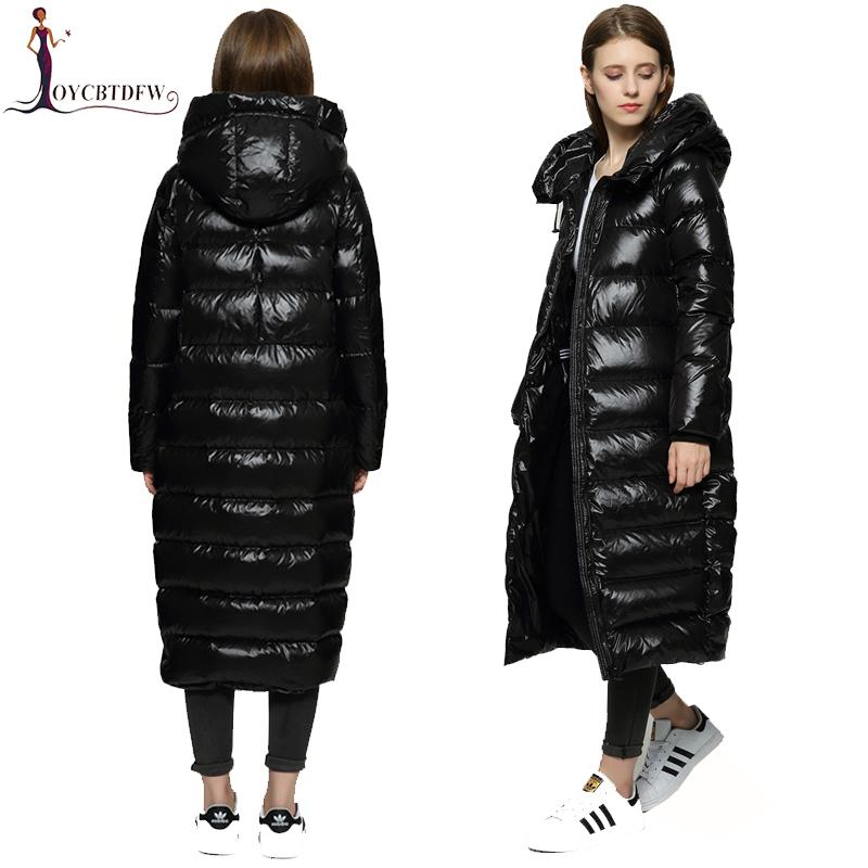 a8dbcfa1150 2019 Winter Women Down Jacket 2018 High Quality Cocoon Long Fashion White  Duck Down Outerwear Female Thickening Loose Warm Coat DD833 From Wenshicu,  ...