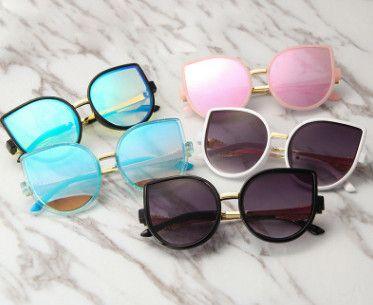 651def6b8b 2019 Girls Boys Fashion Sunglasses Brand Kids Sunglasses Children Sun Glasses  Baby Cute Cat Ears Eyeglasses Children Beach Sunblock YA0081 From  Summervivi