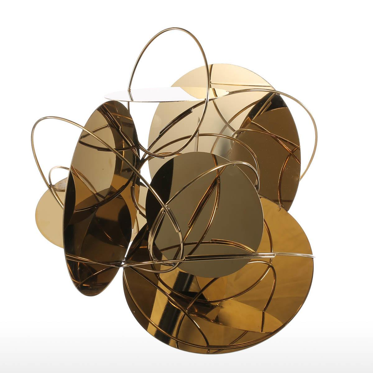 Tooarts Golden Mirror Modern Figurines Home Decor Abstract Crafts Ornament  Metal Sculpture Interior Home Decoration Accessories UK 2019 From  Hero_zhangpeng, ...