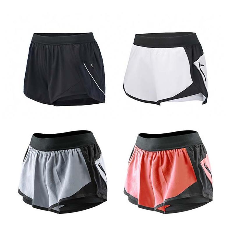 Femme Para Workout 2 Mujeres 1 Gym Training Pantalones Sport Deportivos Fitness Cortos Correr Tight 2018 Short Summer En Yoga OvN0mw8n