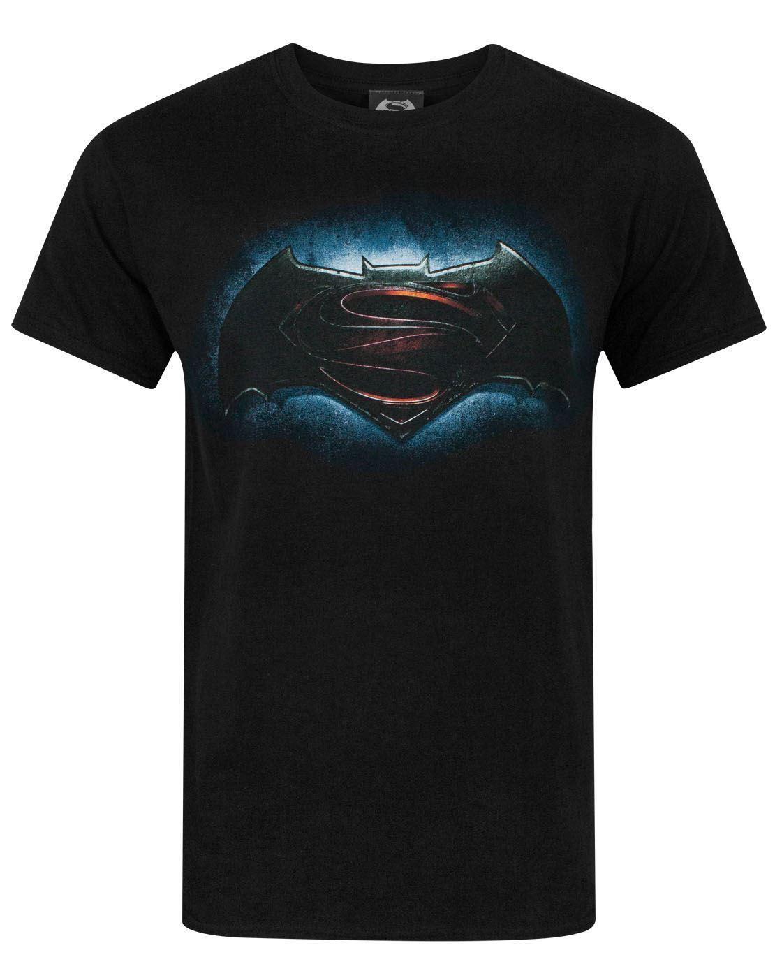 5cb144f9bf Großhandel Batman VS Superman Logo Männer Schwarz Baumwolle T Shirt Größen  S M L XL XXL Von Personalityttshirt, $13.19 Auf De.Dhgate.Com   Dhgate