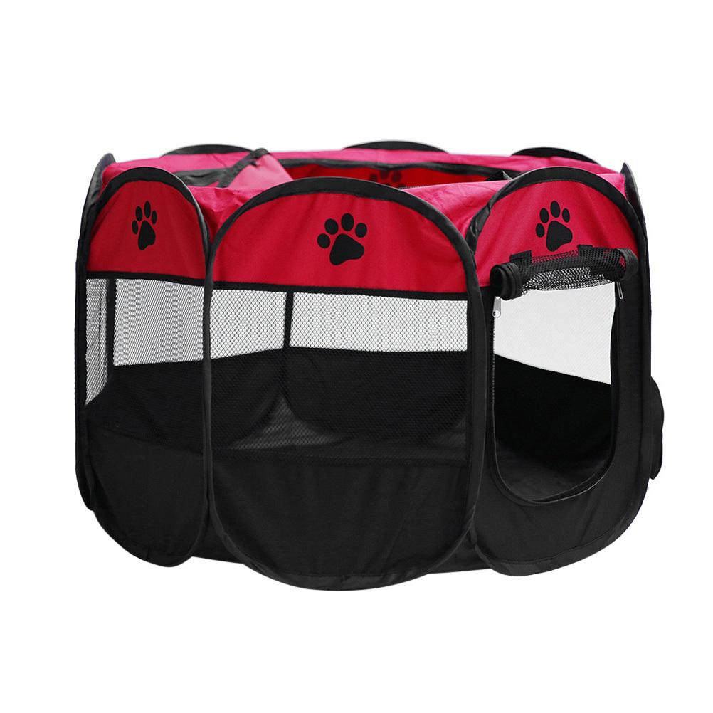2019 72*72*45cm Foldable Portable Dog/Cat/Rabbit/Puppy Pet Playpen Exercise Pen Oxford Cloth