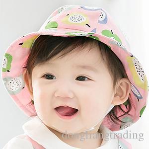 c840cd43bea Baby Hat Toddler Infant Kids Soft Cotton Sun Caps Summer Outdoor ...