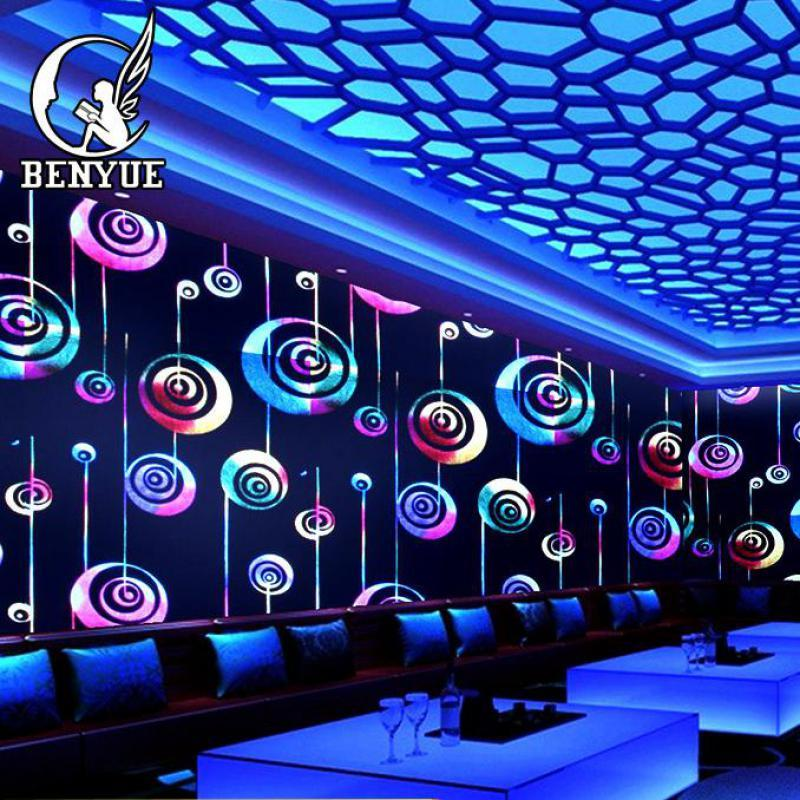 Bar Hotel Living Room Wallpaper Non Woven Luminous Wallpaper Party Wall  Decoration Vertical Stripes Damask Damask Sheets Wallpaper Retail Damask  Fabric ...