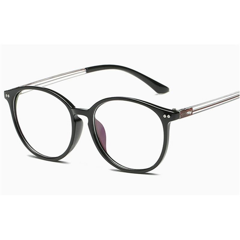 fb3099e609 2019 Fashion Optical Glasses Frame Glasses With Clear Glass Men Women Brand  Round Clear Transparent Women s Frames FML From Milknew