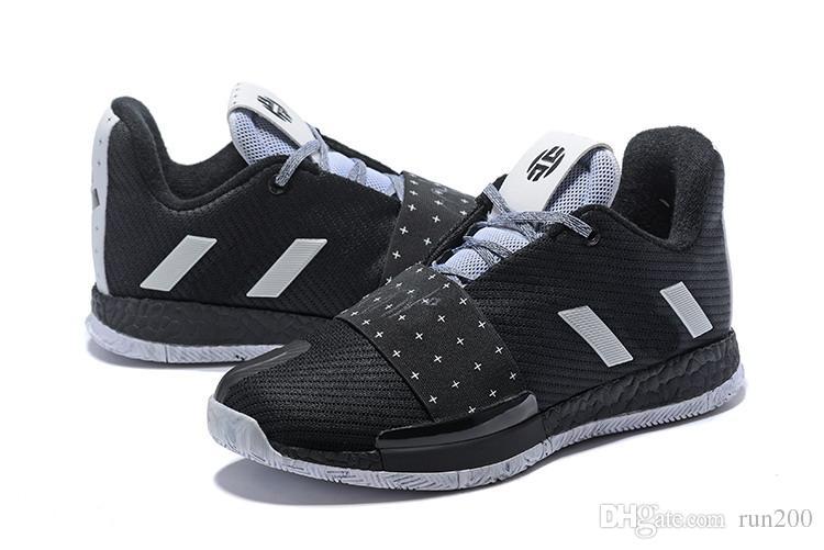 6245cad53 Compre Hot Harden Vol 3 Zapatos Negros Para La Venta De Calidad Superior  Nuevo James Harden Envío Gratis En La Tienda De Zapatos De Baloncesto US7  US11.5 A ...
