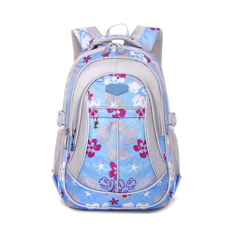6dc463125c HOBBAGGO Fashion Children Backpack Oxford Flower Printed Boys Girls Student  Bags Waterproof Anti Friction School Bag Ne Burton Rucksack Sports Bags From  ...
