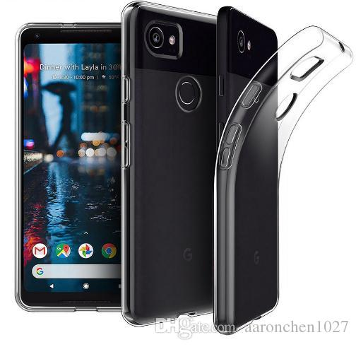 check out 4d92c 423f4 Soft Transparent Case For Google Pixel 2 3 3xl 3a 3AXL Case Cover Silicone  Back Cover Phone Case For Google 3A XL Pixel 3A