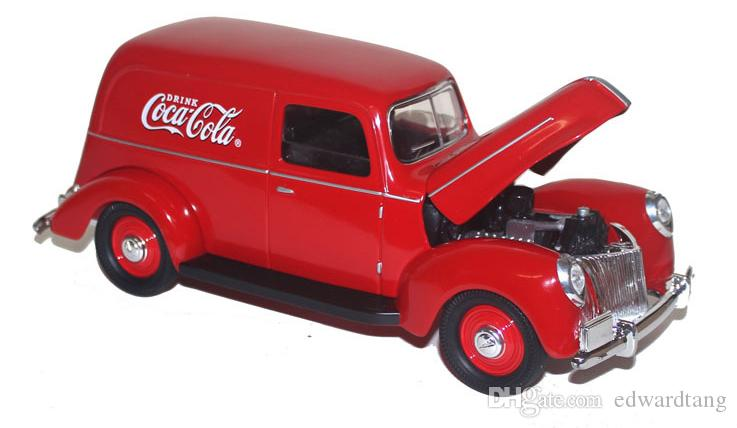 Alloy Car Model Toys, Red Classic Car, Vintage Cars, Truck, Keepsake, High Simulation, for Kid' Birthday Party Gifts, Collecting, Decoration