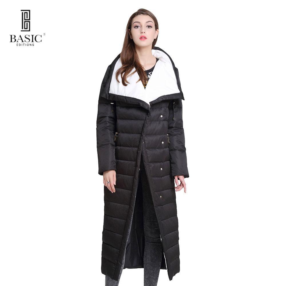 8d0423f4b189 Großhandel 2019 2019 Basic Vogue Damen Winter Extra Lang Einreiher Lässige  Puff Down Parka Jacke Y16010 Von Wear1,  126.89 Auf De.Dhgate.Com   Dhgate
