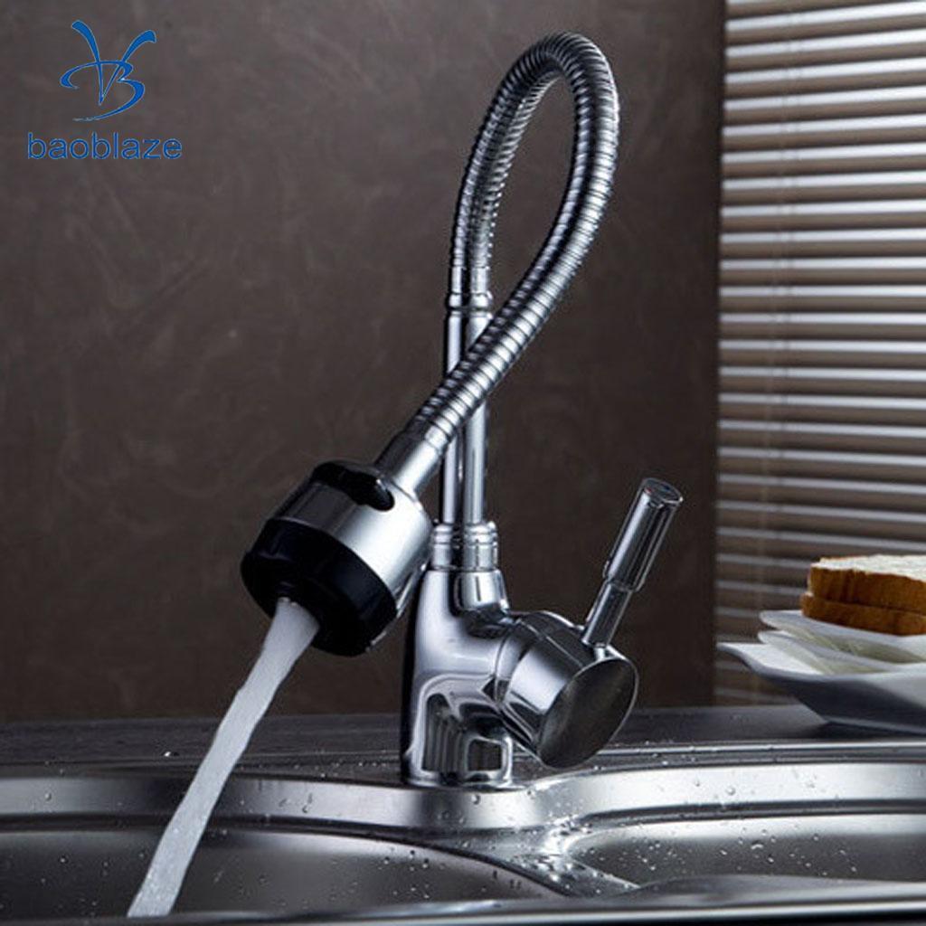 Großhandel Flexible Rotierende Wasserhahn Küche Waschbecken ...