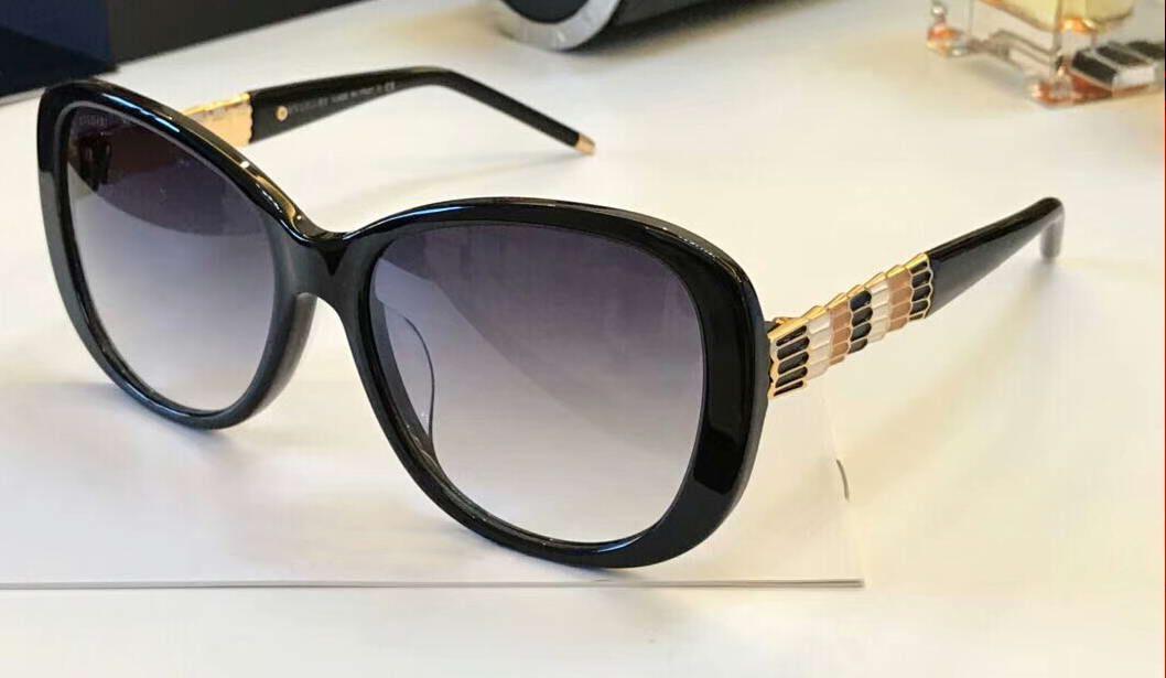 3312e6e84f 8114 Sunglasses Black Gold  Gray Womens Oversize Luxury Designer Sunglasses  Fashion Brand Sunglasses Eye Wear New With Box Sunglasses Shop Bolle  Sunglasses ...