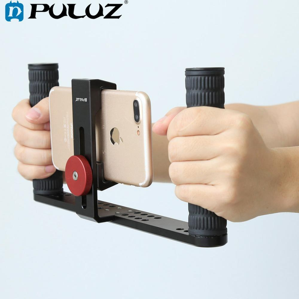 ... Filmmaking Making Rig Stabilizer Steadicam Bracket Holder Cradle Phone Clip  For IPhone ffa7464d8
