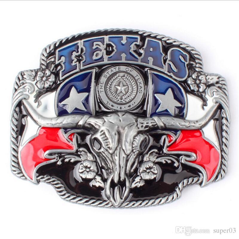 Acheter Boucle De Ceinture De Bricolage American West Cowboy Ceinture Boucle  Tête De Vache Accessoires De Ceinture Style Texas De  2.15 Du Super03    Dhgate. fd6ca581965