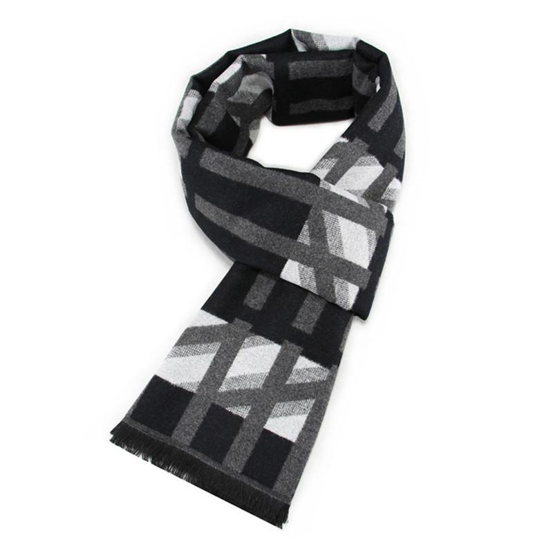 Compre Lo Nuevo 30 Cm * 180 Cm Hombres Moda Diseño Bufandas Hombres ...