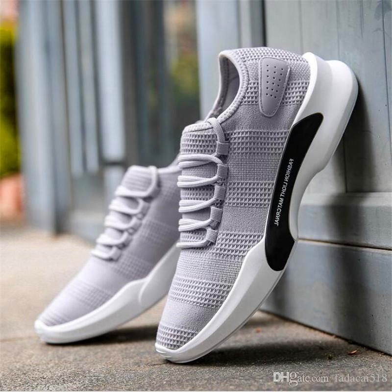 Casuales Zapatos Hombre De Transpirables Pisos Compre Ligeros Y gYbyf76