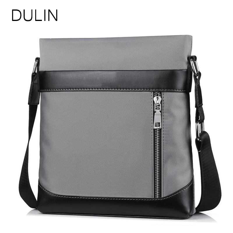 9619a558be DULIN Bags For Men 2018 Oxford Single Shoulder Bag Casual Business ...
