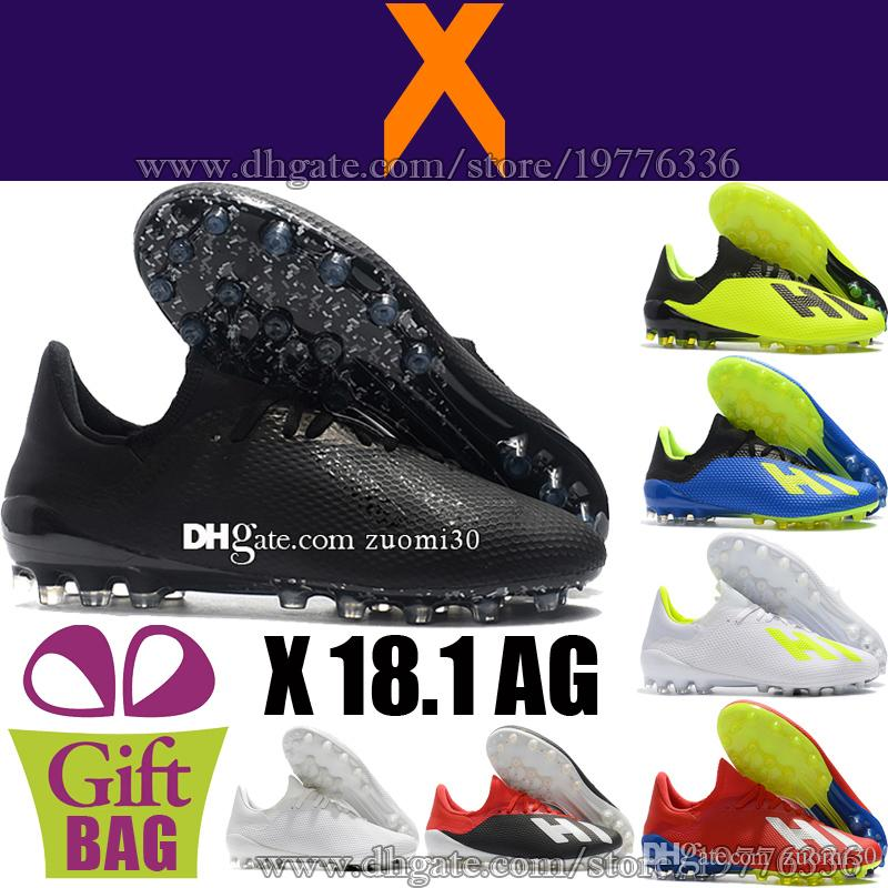 ff51ca28a 2019 Cheap Original X 18.1 Soccer Cleats AG Outdoor Mens Football Shoes  Soccer Boots Trainers Leather Football Boots X 18.1 Soccer Shoes 39 46 From  Zuomi30
