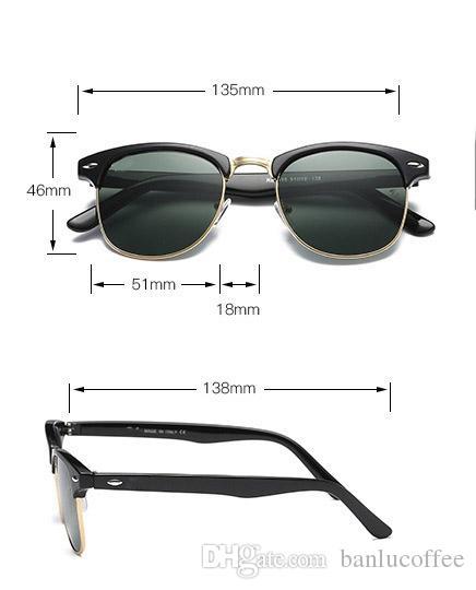 2018 gros lunettes de soleil vintage femmes hommes nouvelle arrivée cadre lunettes de soleil hommes lunettes de soleil marque concepteur lunettes extérieures avec étui brun