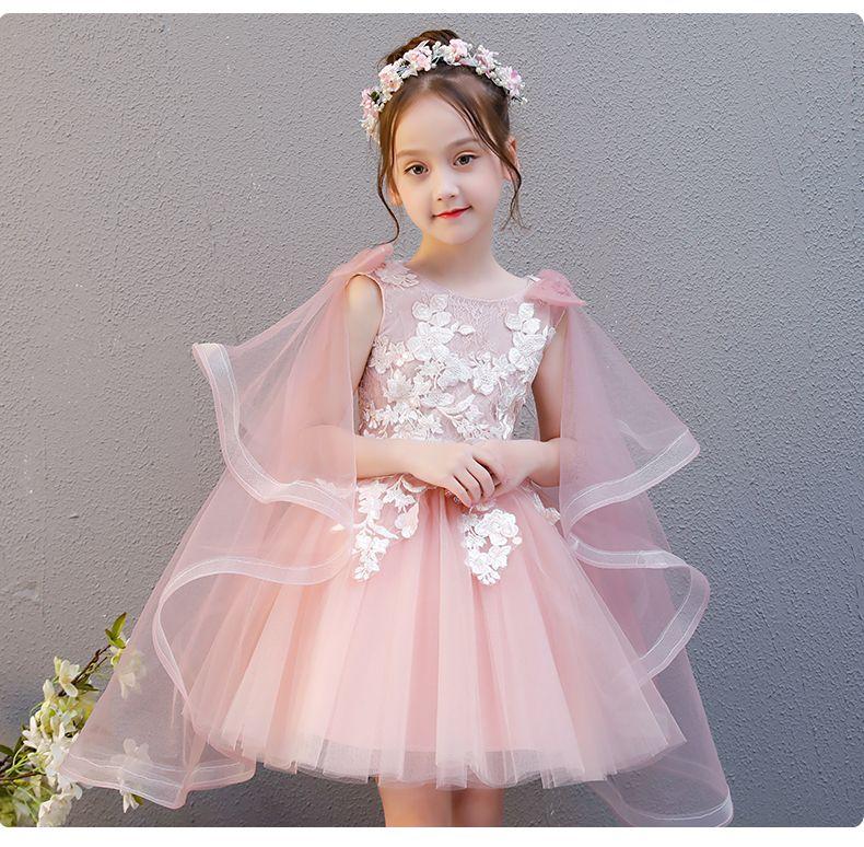 5f827e4e6 Compre Nueva Llegada Flor Princesa Vestido De Niña Baptsim Rosa Fiesta De  Tul Cumpleaños Cumpleaños Vestido Niños Tutu Vestido Para Vestidos De Niñas  Ropa ...