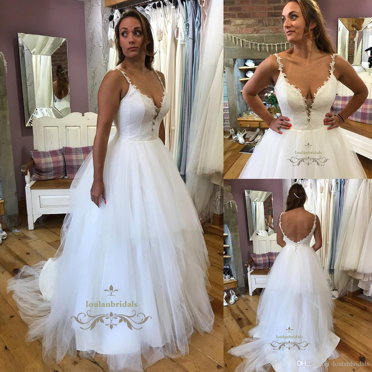Discount Truly Stunning Princess Style Wedding Dress Lace Bodice ...