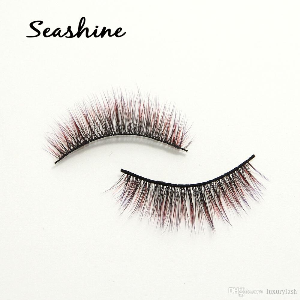 f3326f15fd6 Seashine Newest Makeup 3D Mink Eyelashes Thick Real Mink HAIR False  Eyelashes Natural For Beauty Makeup Extension Fake Eyelashes False Lash Fake  Eyebrows ...