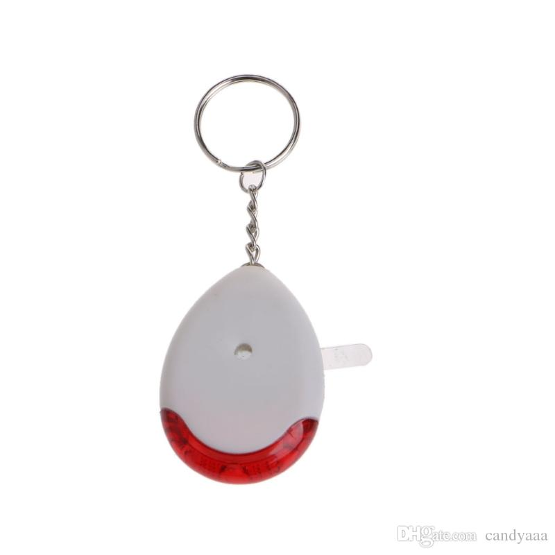 2018 Whistle Sound Voice Control Locator LED Torch Light Lost Key Finder Keychain - L060 New hot