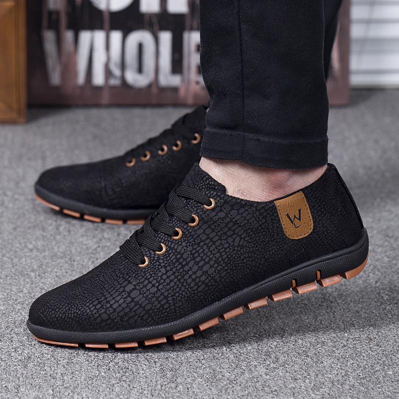 Spring Summer Men Shoes Breathable Mens Shoes Casual Fashio Low Lace Up  Canvas Shoes Flats Zapatillas Hombre Plus Size 45 79132e92a