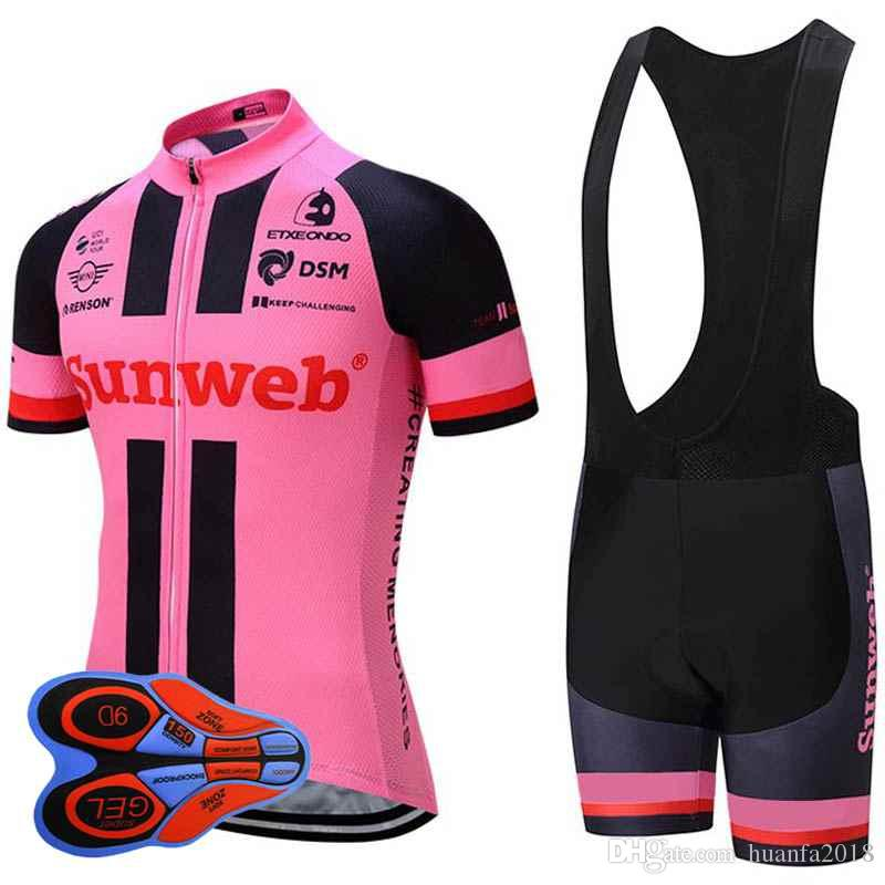 New Sunweb Pro Team Cycling Jersey 2017 Cycling Enthusia Sport Suit Bike  Maillot Ropa Ciclismo Bicycle MTB Bicicleta Clothing Set H1404F Long Sleeve  Cycling ... 2e7d8401f