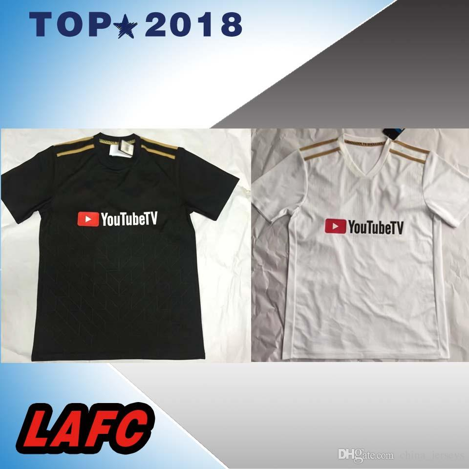 2019 MLS 2018 LAFC New Los Angeles Soccer Jerseys 10 BELA HOME BLACK AWAY  WHITE De Foot 2018 Football Shirts From China jerseys b6459ecd5
