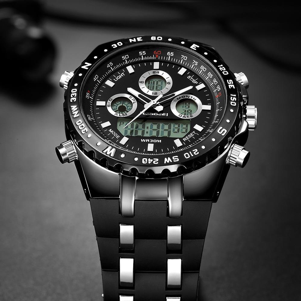 476f066a0078 Compre Marca De Reloj Readeel Marca De Fábrica Superior Deporte Reloj De  Pulsera De Cuarzo Hombres Relojes Militares Relojes LED Digitales Relojes  De Cuarzo ...
