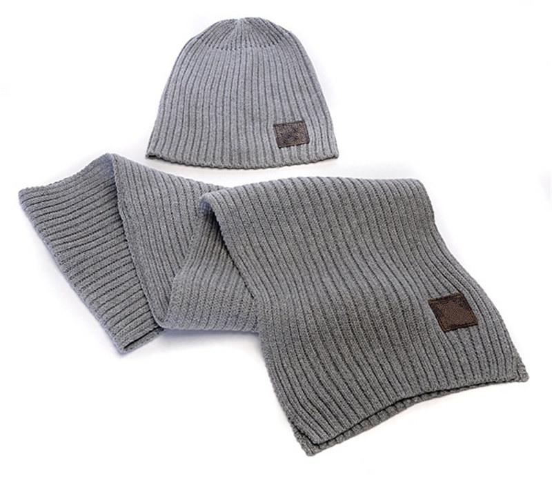 Luxury Brand Design Beanies And Scarves Fashion Casual Knitted Hats ... dd8505bd6bf6