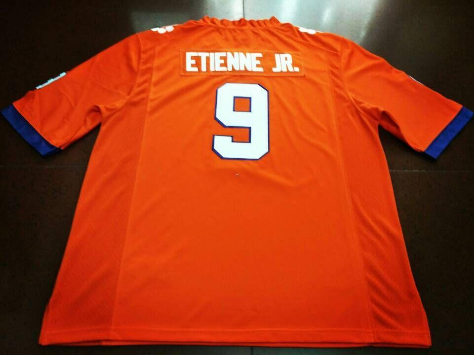 newest 386f0 9006d Men Clemson Tigers #9 Travis Etienne Jr Mike Williams Orange White College  Jersey or custom any name or number jersey