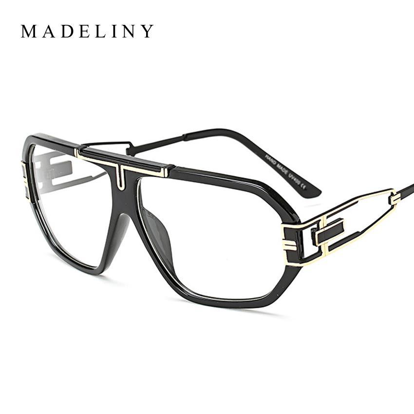 Großhandel Madeliny Klassische Marke Designer Brillengestell Männer ...