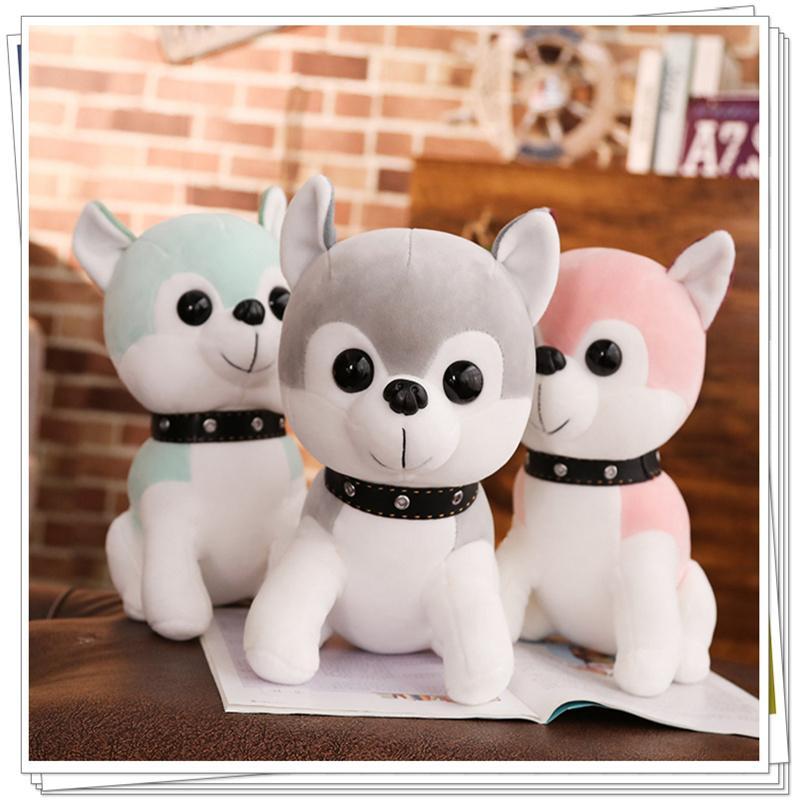 2019 Husky Dog Plush Soft Toy Baby Doll Stuffed Animals Sponge Bob