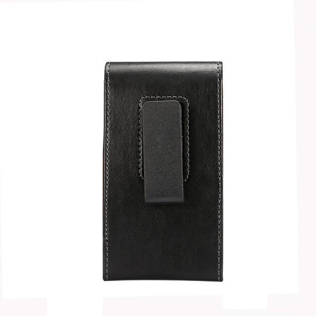 Universal carteira cinto clipe de bolsa de couro bolsa de couro para iphone 5 6 7 8 x geral telefone case para samsung galaxy s4 s5 s6 s7 s8 além de note3 4 5